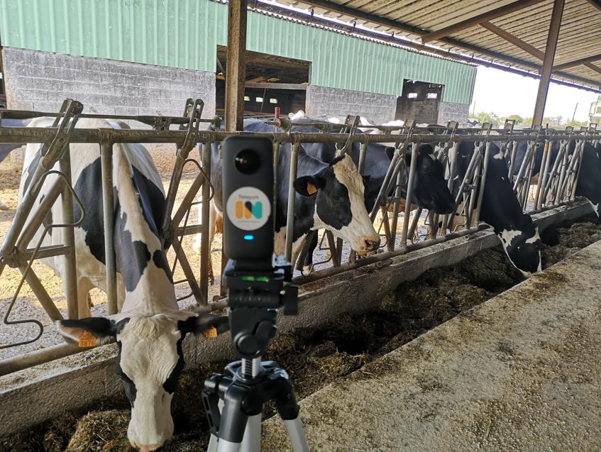 Visite à la ferme depuis un EHPAD