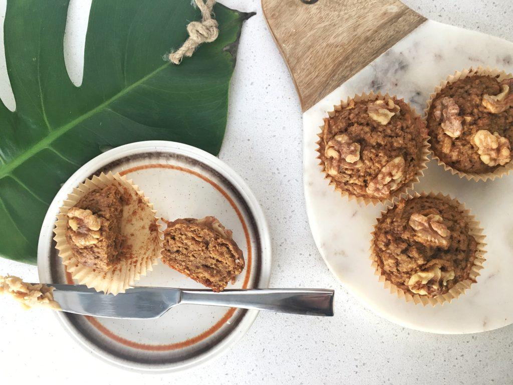 Apple Olive Oil Muffins