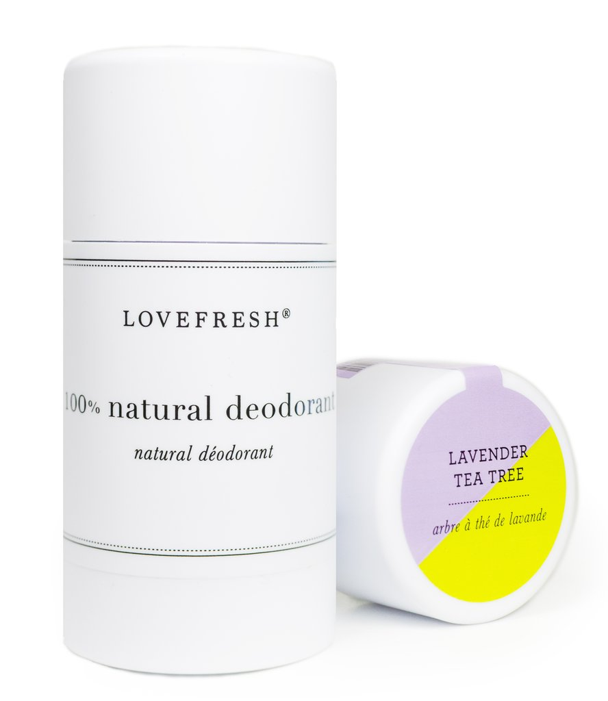 Detoxify with non-toxic Love Fresh Deodorant