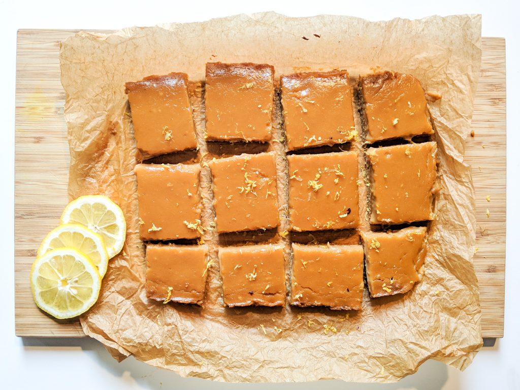 Grain Free Lemon Squares