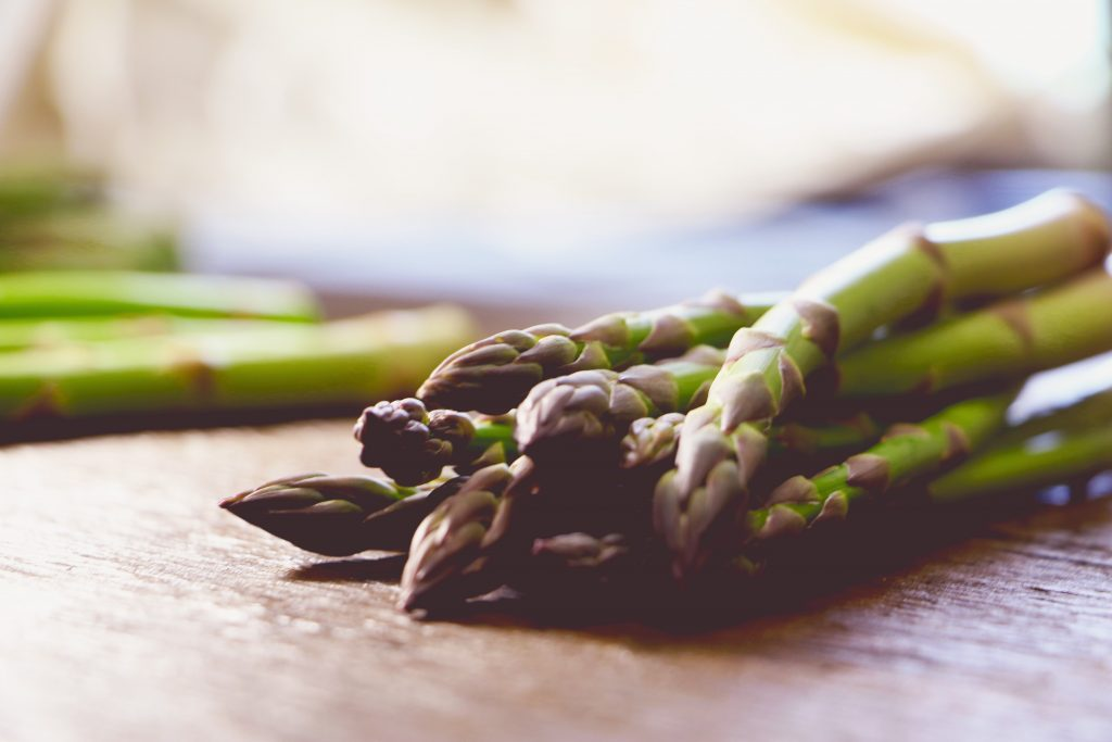 Beat the bloat with asparagus