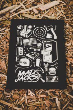Mad Jacks Limited Edition Graphic Print
