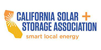 Logo for California Solar + Storage Association