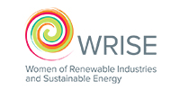 Logo for Women of Renewable Industries and Sustainable Energy