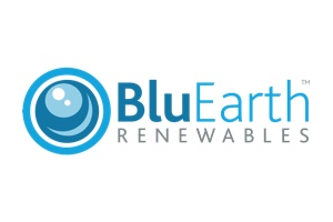 Logo for BluEarth Renewables