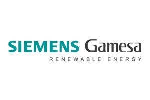 Logo for Siemens Gamesa