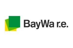 Logo for BayWa r.e.