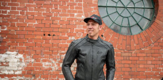 Weise Diablo Leather Jacket