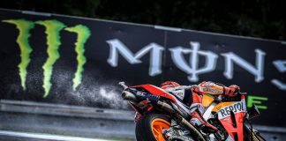 Marc Marquez Puts Slicks On Pole At A Half-soaked Brno