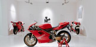 Massimo Tamburini's 916 At The Ducati Museum