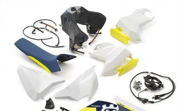 Husqvarna Motorcycles' Additional Fuel Tank Kit