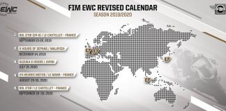Exceptional Decisions For The 2019-2020 Fim Ewc