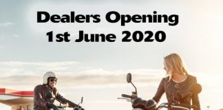 Green Light For Kawasaki Dealers To Open