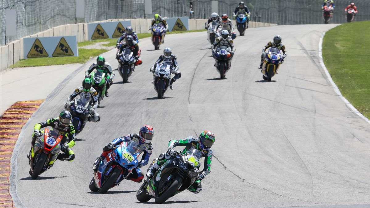 Three Riders Double Down At Road America