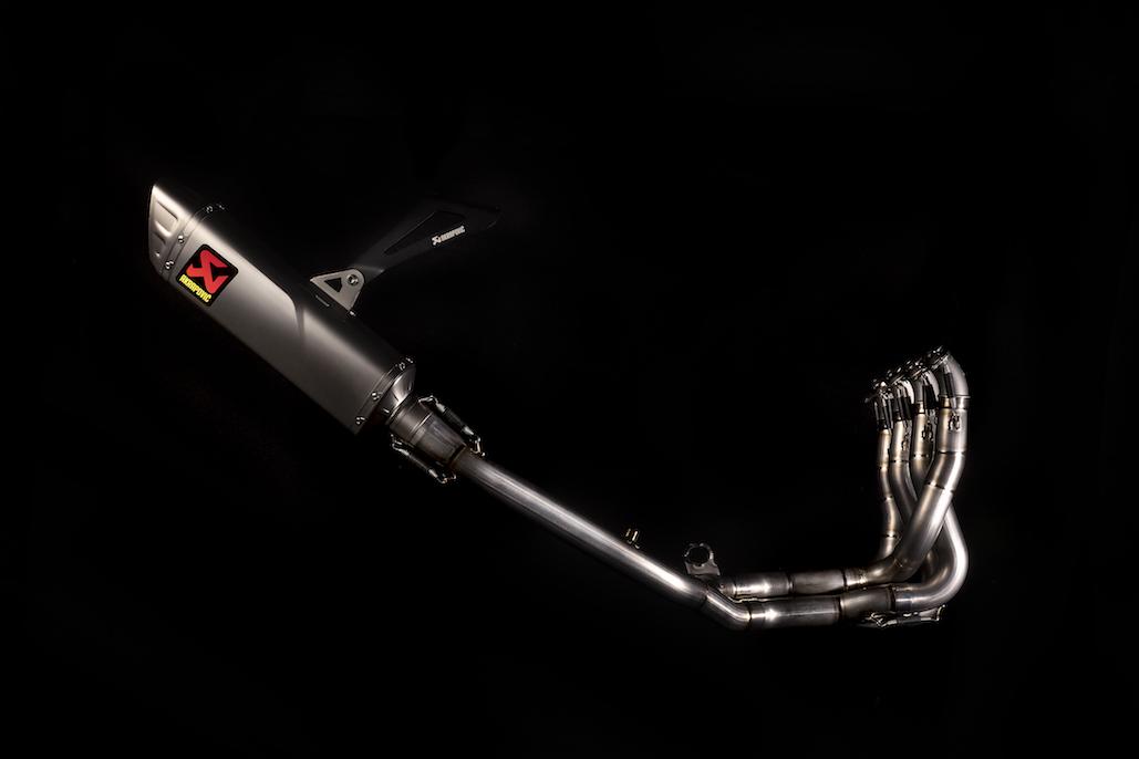 Akrapovič Releases New Exhaust For Honda's Latest Racing Machine