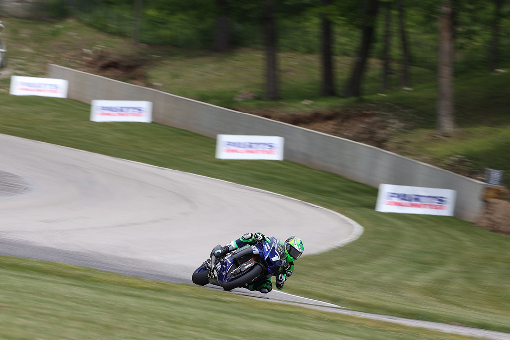 Beaubier Breaks Lap Record Again On Friday At Road America