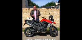 Triumph Motorcycles Helps Rugby Star David Flatman Celebrate Uk's Local Lockdown Heroes