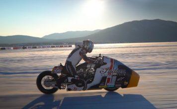 Indianxworkhorse Appaloosa V2.0 Shakedown Test At The 2020 Baikal Mile Ice Speed Festival