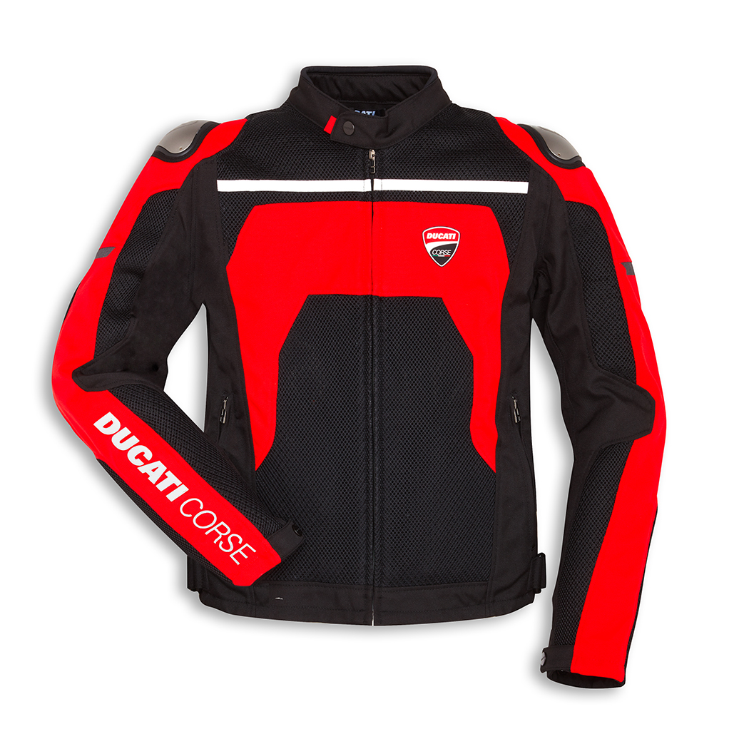 Ducati: The New Ventilated Jackets To Ride The Motorcycle During The Summer