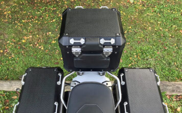 Soft Tops For Alloy Panniers