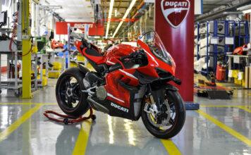 Ducati Starts Production Of The Superleggera V4