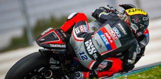 Lüthi And Ogura Set Lap Records To Leave The Moto2™/moto3™ Jerez Test On Top