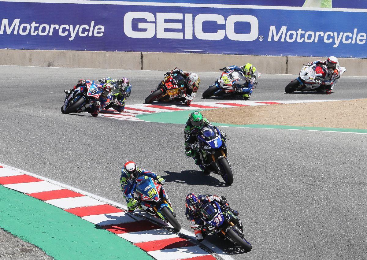 Motoamerica Reschedules Superbike Speedfest At Monterey
