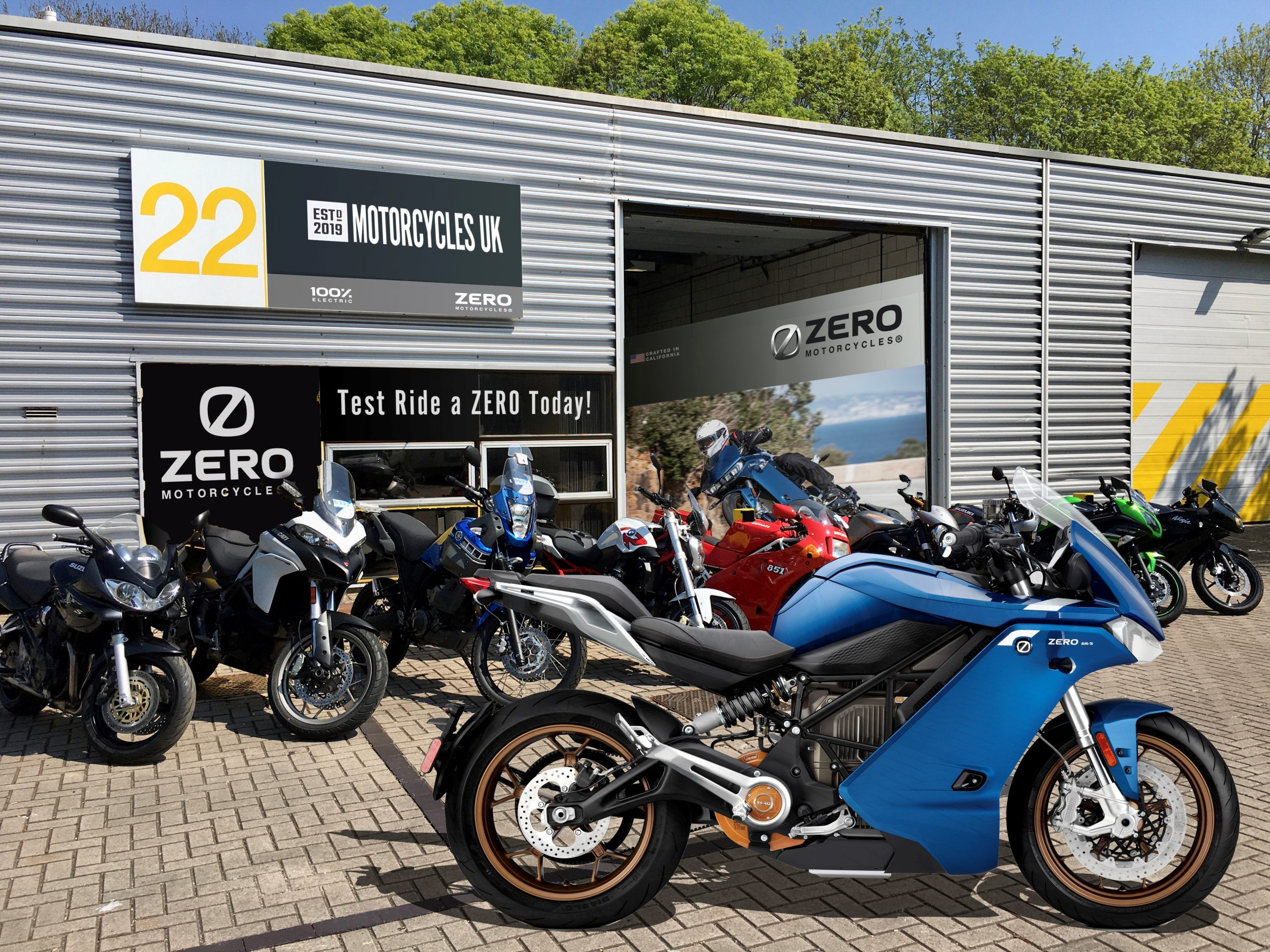 Zero Motorcycles Expands Dealer Network With New Appointment In Wiltshire