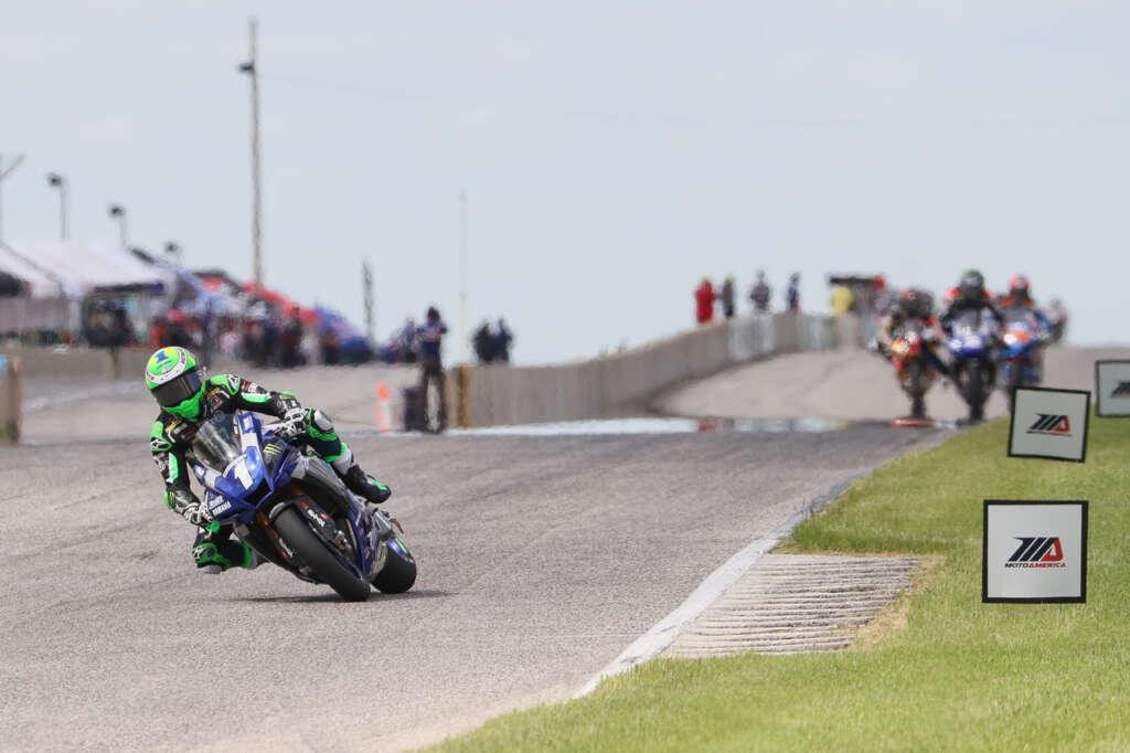 Beaubier Dominates Honos Superbike Race One At Road America