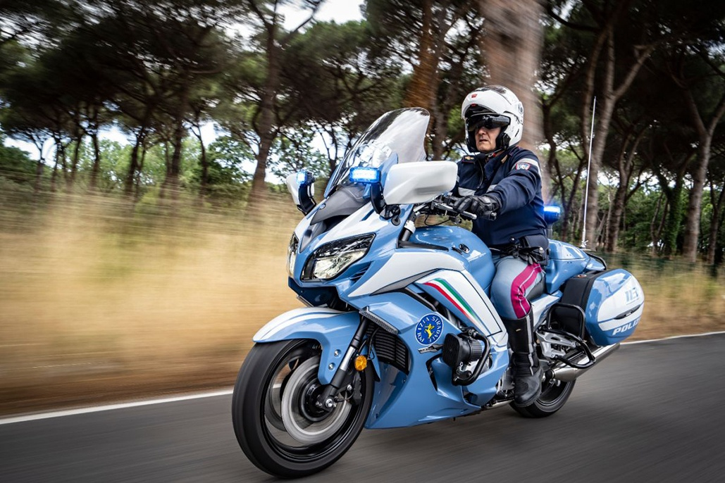 Fjr1300ae Becomes The New Italian National Police Motorcycle