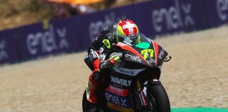 Aegerter Heads Top Three Split By Half A Tenth On Day 1