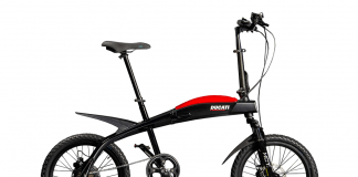Ducati And Mt Distribution Present A New Line Of Folding E-bikes
