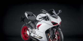 """""""the Red Essence. In White"""": New Livery For The Ducati Panigale V2"""