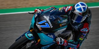 Mcphee Fastest Out The Blocks In Moto3