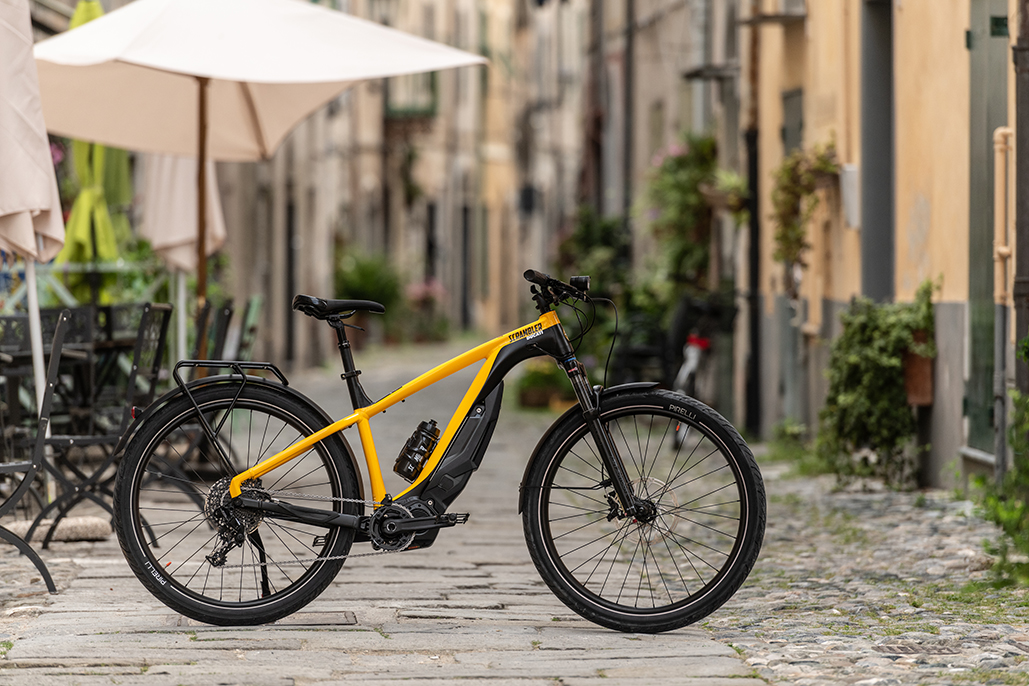 E-scrambler: The E-bike To Move Freely And With Style