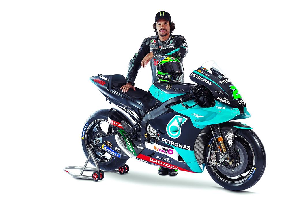 Petronas Yamaha Sepang Racing Team Retains Franco Morbidelli