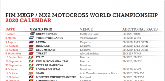 2020 Mxgp Calendar Update And 2020 Motocross Of Nations Cancelled