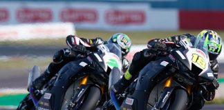 Andrew Wins The Battle Of The Irwins To Claim New Fireblade's First Win