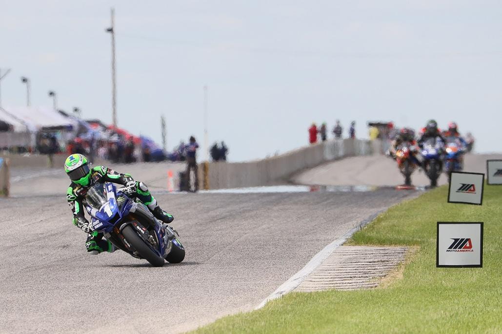Beaubier Dominates Honos Superbike Race One At Road Atlanta
