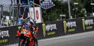 Binder Takes Maiden Motogp Win To Make History In Brno