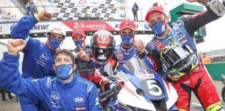 F.c.c. Tsr Honda France Win 24 Heures Motos