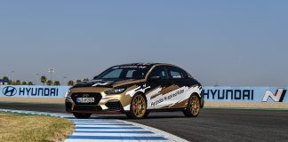 The Hyundai N-spired Rider Award Prize Unveiled Whilst Back On Track At The Spanish Round