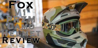 Fox Racing V1 Helmet Przm Camo Se Review