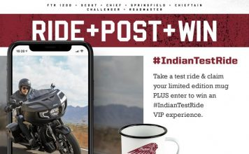 Last Chance To Ride, Post, Win With Indian Motorcycle