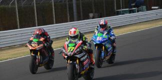 Aegerter Vs Torres Vs Ferrari: Race 1 Podium Split By A Tenth At Misano