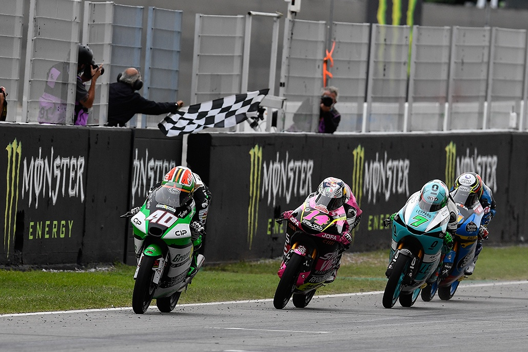 Darryn Binder Battles To First Grand Prix Win In Barcelona