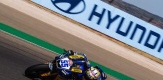 Locatelli Fastest After Friday Worldssp Action At Motorland Aragon