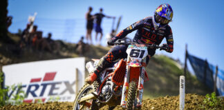 Prado And Vialle On Top Of The Podium At The Mxgp Of Città Di Faenza