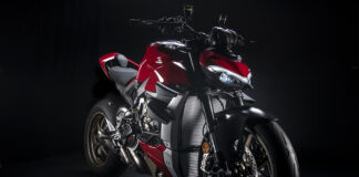 The Streetfighter V4 Becomes Even Sportier With Ducati Performance Accessories