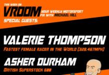 Vroom – Your Motorsport Fix, Episode 8 – Valerie Thompson, Asher Durham